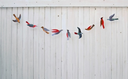 bird garland