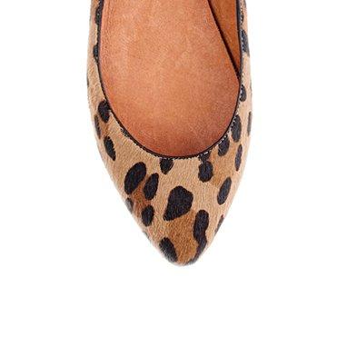madewell-leopard skimmer
