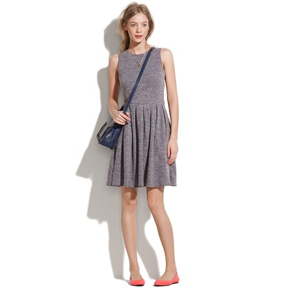 madewell- sweatershirt dress